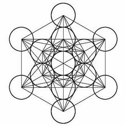 Cube Metatrons Sacred Tattoo Metatron Geometry Geometric