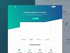 Evelyn  Html Landing Page For Startups