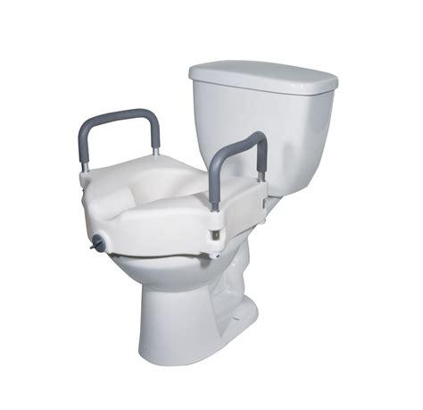 raised toilet seat  arms bathroom aids