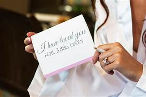 i have loved you for so many days card from the bride With wedding gift to bride from groom