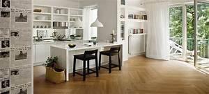 lambris bois ou pvc une deco murale top tendance With couleur papier peint tendance 11 carrelage metro inspiration et idees deco pour cuisine