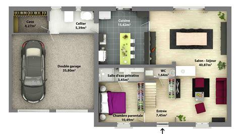 plan de maison traditionnelle ligne traditionnelle maison laure