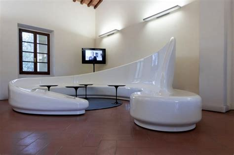 modern sleek sofa designs endearing sleek modern furniture with red chair and