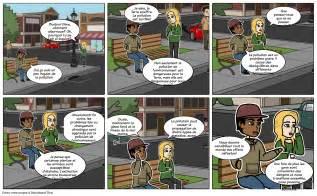 dialogue entre deux amis sur la pollution de lenvironnement