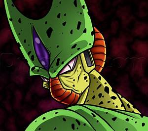How To Draw Imperfect Cell  Step By Step  Dragon Ball Z