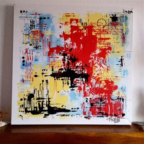 tableau peinture abstrait contemporain moderne acrylique tableau abstrait contemporain