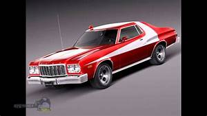 Old vintage cars tuned USA 1975 Ford Gran Torino YouTube
