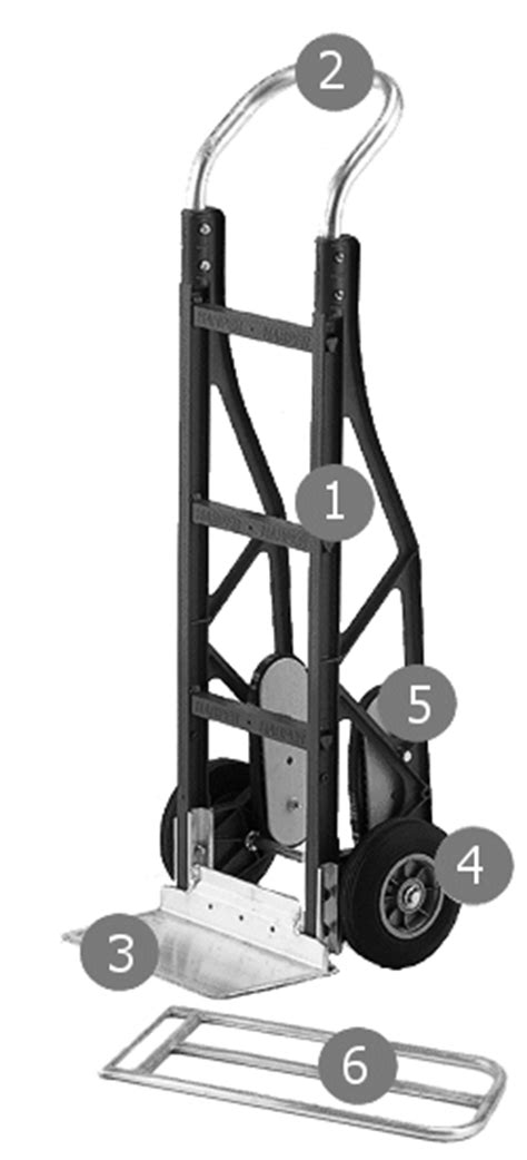 Build your own Harper Composite Lightweight Hand Trucks