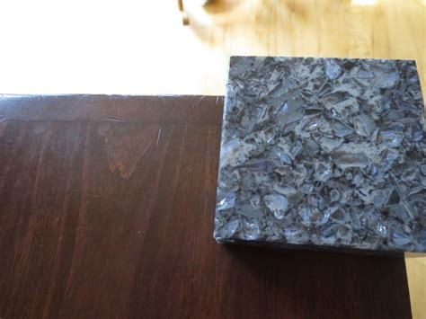 Parys Cambria Quartz counter top sample with our cabinets