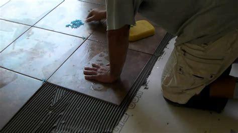 installing ceramic tiles youtube