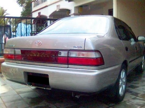 Bztouring 1992 Toyota Corolla Specs, Photos, Modification