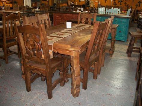 rustic dining room set monterrey rustic furniture