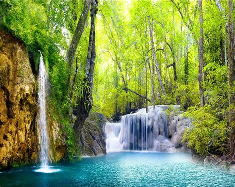 3d Scenery Wallpaper by Beibehang 3d Wallpaper Hd Waterfall Scenery Pictures Wall