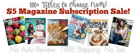 she magazine subscription 5 magazine subscription sale 100 titles shesaved 174