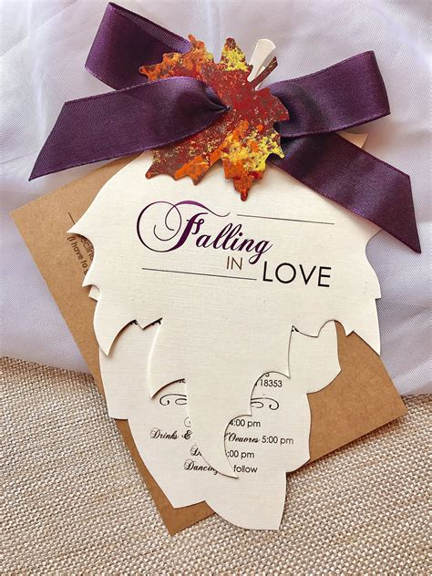 FREE 15+ Fall Wedding Invitation Designs & Examples in PSD