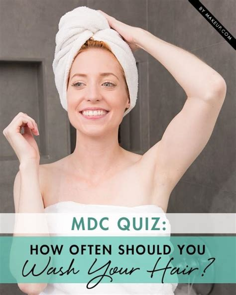 Quiz How Often Should You Wash Your Hair? Weddbook