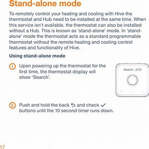 Centrica Hive Slt4 Thermostat User Manual 21576 Hive Na