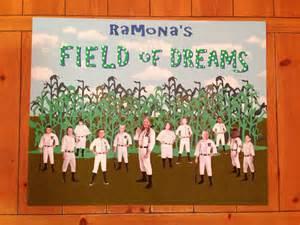 theme classroom decor field of dreams baseball poster for kids classroom