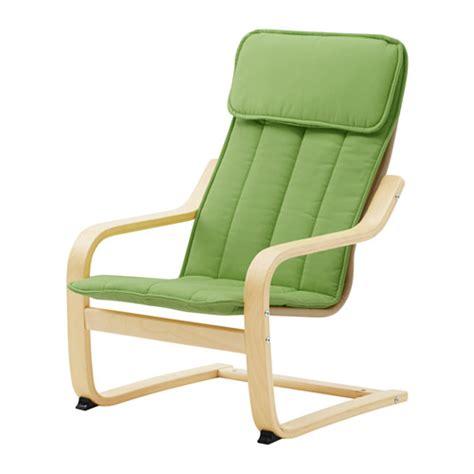 po 196 ng fauteuil enfant plaqu 233 bouleau alm 229 s vert ikea