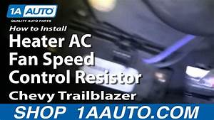 How To Install Replace Blower Motor Resistor 02