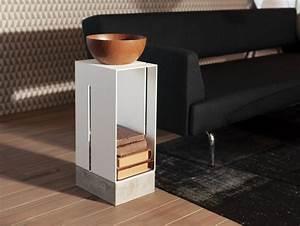 Meuble En Fer : meuble de rangement en fer sur pied manhattan low ~ Melissatoandfro.com Idées de Décoration