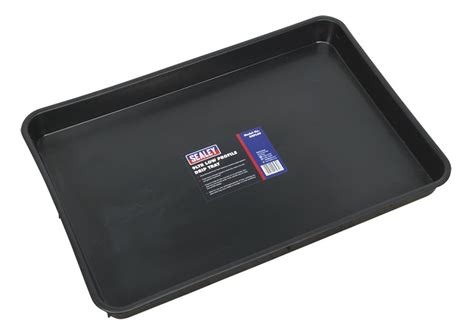 Garage Drip Tray by Sealey Workshop Garage Fuel Drip Tray Pan Pits Low