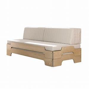 Coussin Design Pour Canape : coussin dossier pour transformer le lit empilable en canap ~ Teatrodelosmanantiales.com Idées de Décoration