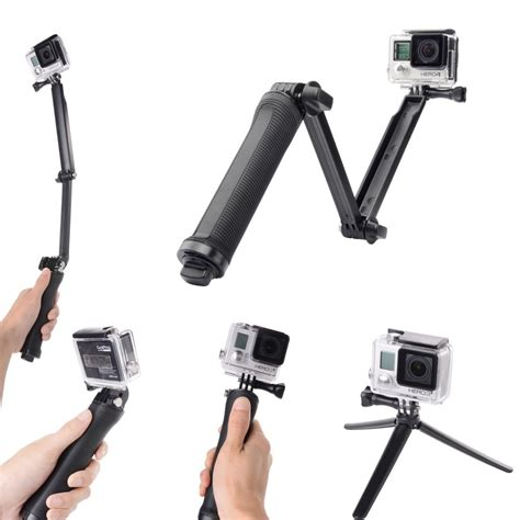 viper way arms for gopro aliexpress buy gopro monopod accessories 3 way grip arm tripod for gopro 4 2 3