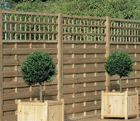 trellis fence panels garden design ideas