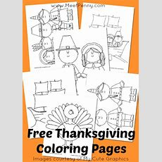 Free Printable Thanksgiving Coloring Pages  Meet Penny