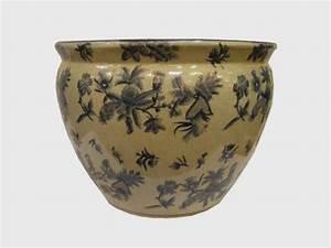 Cache Pot Bleu : pots et cachepots aux merveilles d 39 asie ~ Teatrodelosmanantiales.com Idées de Décoration