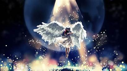 Angel Wings Violin Wallpapers Fantasy Anime Classical