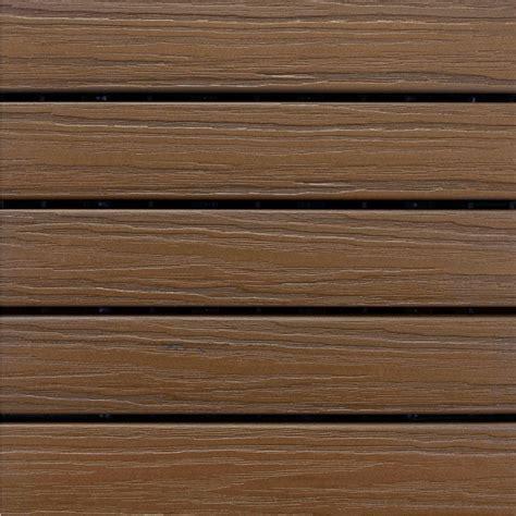 Elite Decking by Aura Elite 1 Ft X 1 Ft Premium Polymer Deck Tile In