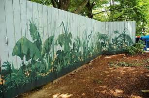 cara desain kreasi unik dekorasi pagar halaman belakang