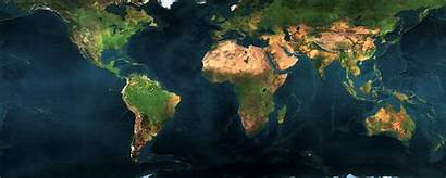 Monitor Dual Earth Map Wallpapers 2560 1024