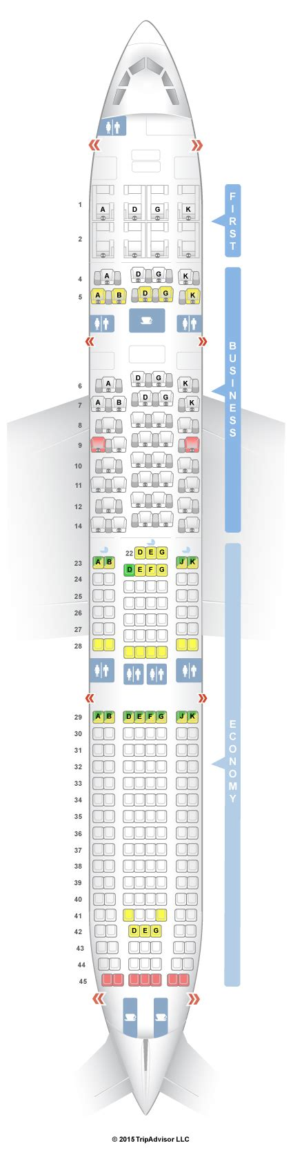 swiss siege seatguru seat map swiss airbus a330 300 333