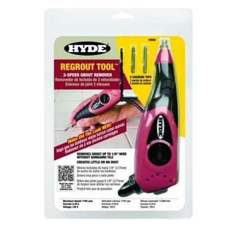 hyde regrout tool 3 speed grout remover 19500 the home depot
