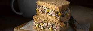 Tuna Sweetcorn And Bean Sandwich Newburn Bakehouse By