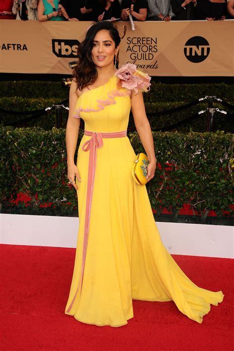 SALMA HAYEK at 23rd Annual Screen Actors Guild Awards in ...