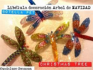 Libélula botella PET árbol de Navidad Christmas Ball ornament Libelula plastic bottle Dragon fly