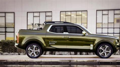 Kia New Truck 2020 by Render New 2018 Kia Mohave Telluride Concept Kia