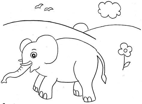 contoh gambar utk mewarnai anak tk coloringpagesasia