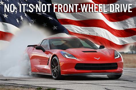 Front Wheel Drive Car by Further Proof The Corvette Is America S Sports Car