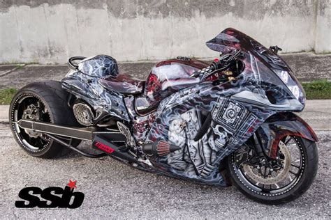 Custom Suzuki Hayabusa by Custom Suzuki Hayabusa And Its Awesome Uniqueness