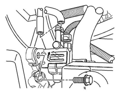 Chevy Aveo The Vacuum Line Off Valve Cover