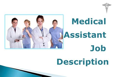 medical assistant jobs no experience required medical assistant job description