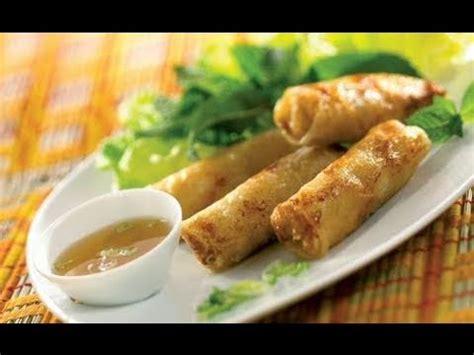 les recettes d hervé cuisine recette des nems vietnamiens au crabe et aux crevettes