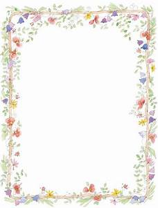 Vintage Flower clipart flower bottom border - Pencil and ...
