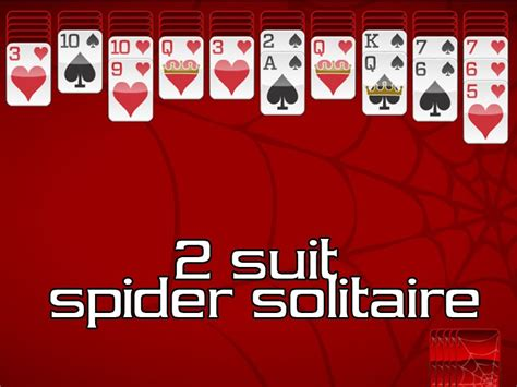 Two Suit Spider Solitaire Fall by Strategy War Software Strategy War