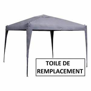 Toile Pour Tonnelle 3x3 : toile de tonnelle 3x3 achat vente pas cher ~ Melissatoandfro.com Idées de Décoration
